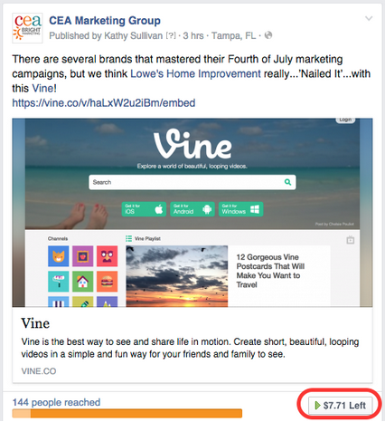 How to edit boosted facebook posts cea marketing step one editing facebook posts ccuart Gallery
