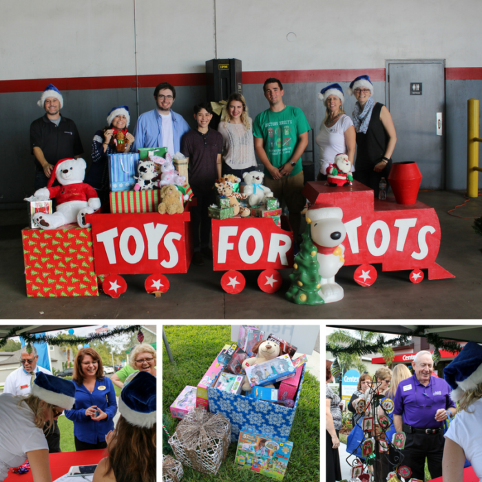 Toys for Tots Charity Event